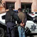 Golpea a cajera de Oxxo e intenta robar, es detenido. Centro histórico, Zacatecas.