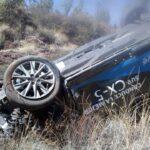 Se fue hacer la prueba de manejo de la mazda CX-5 y se fue a un barranco en la bufa en Zacatecas.
