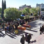 Despiden a policías asesinados en Valparaíso Zacatecas