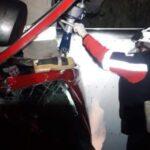 Terrible accidente deja como saldo a un hombre herido: Zacatecas, capital.