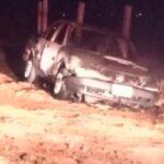 🚨Se localizaron los cadáveres de dos hombres junto a un taxi calcinado: Zacatecas, capital.🚨