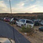 🚨Les caen autoridades en Infraganti!! Suspenden coleadero con más de 1000 personas en comunidad: Miguel Hidalgo, Zacatecas.🚨