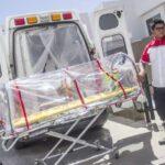 Paciente covid no alcanza a llegar a la UNEME muere al exterior del Hospital.
