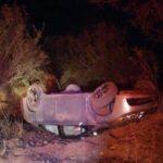🚧Jugaban carreras y se accidentan 3 vehículos en Tacoaleche.