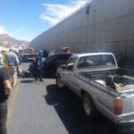 🚦Choca vehículo contra muro de contención: Zacatecas, capital.🚦