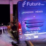 ⚠️Fuerte accidente vial arrasa con camión de pasajeros: Guadalupe, Zacatecas.⚠️