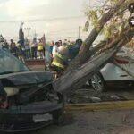 🚨Aparatoso accidente en el boulevard, deja 3 personas lesionadas, una de gravedad