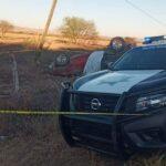 Se registra fatal accidente en ciudad Cuauhtémoc Zacatecas.