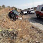 Se registra un fatal accidente en tránsito pesado, el saldo una mujer herida y una muerta.