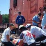 Hombre de edad avanzada, es arrollado por el tren