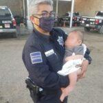 Encuentran en Sonora a bebé abandonado en una parcela