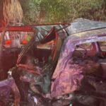 Mujer ebria impacta su auto con el de otra  familia, mueren dos personas