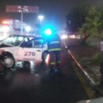 Se registran 2 accidentes durante la madrugada en el bulevard.