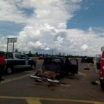 5 heridos y una mujer sin vida el saldo de accidente en Luis Moya Zacatecas