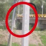 Cuelgan a un hombre en un puente en Valparaiso Zacatecas.