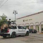Asaltan coppel de la avenida Guerrero en Guadalupe Zacatecas.