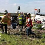 Se desploma aeronave en aeropuerto de Durango, piloto muere.