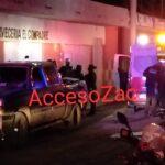 Hombres armados atacan bar en Guadalupe