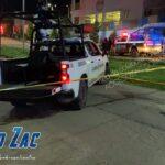 Matan a 3 en la colonia África de Guadalupe Zacatecas.