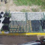 GN, decomisa rifles, cartuchos y lanzagranadas y detienen a sujeto